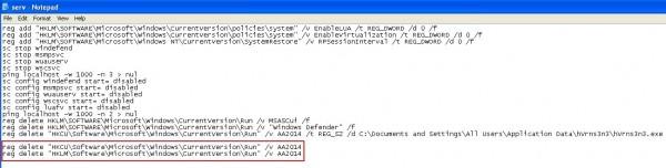 Run commands in cmd.exe