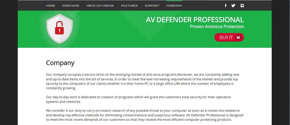 AV Defender Professional