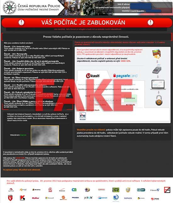 Czech Replubic Police virus