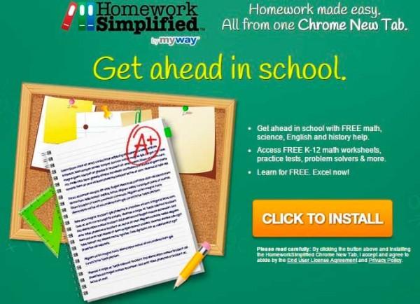 Homework Simplified