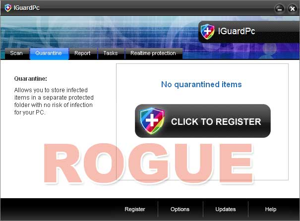 IGuardPc - fake antivirus