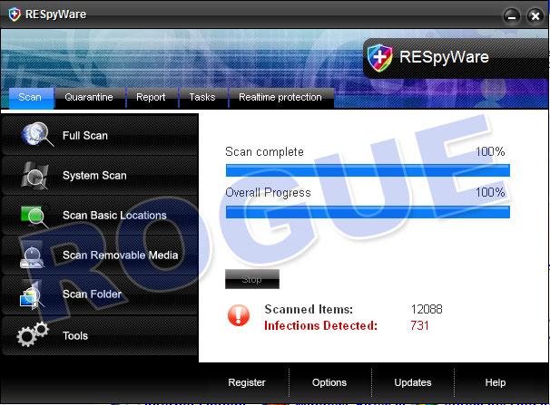 RESpyWare antivirus
