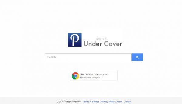 Under cover-informação