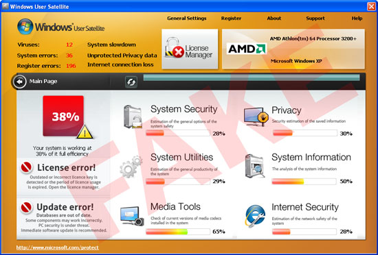 Windows User Satellite