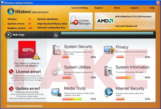 Windows Optimal Solution