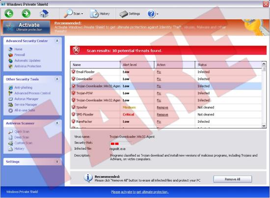 Windows privé Shield
