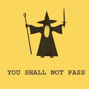 No pasarás