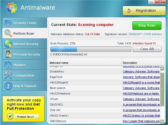 Antimalware fake antivirus