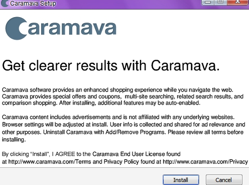 Caramava Deals adware (Removal tutorial)