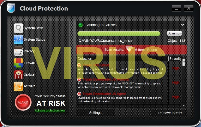 Cloud Protection virus