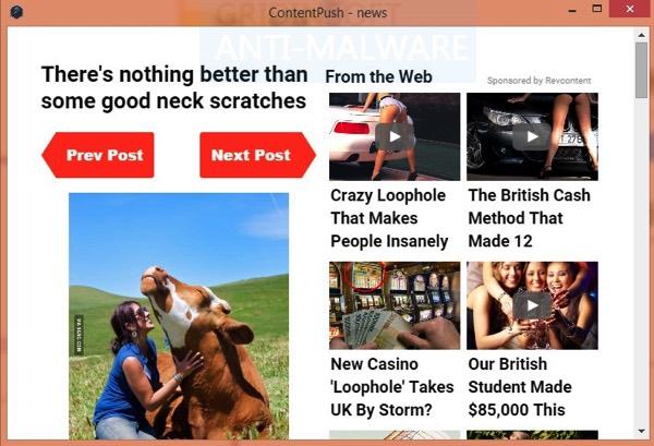ContentPush notizie
