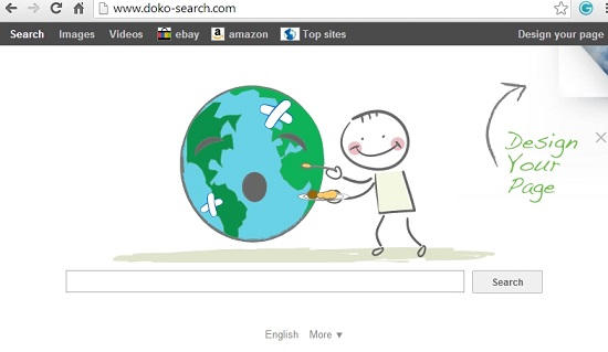 Doko-search.com browser hijacker