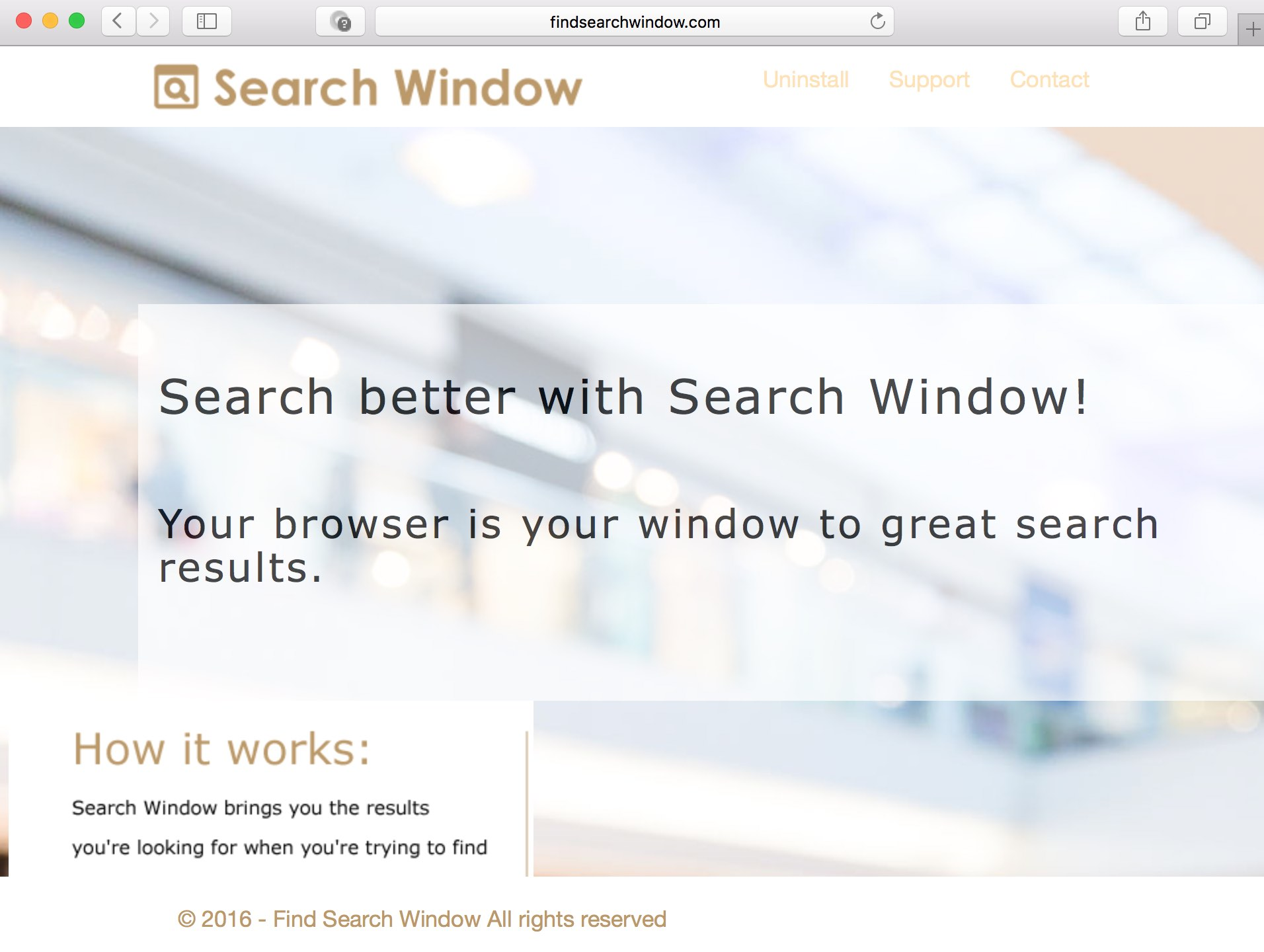 Find Search Window Ads