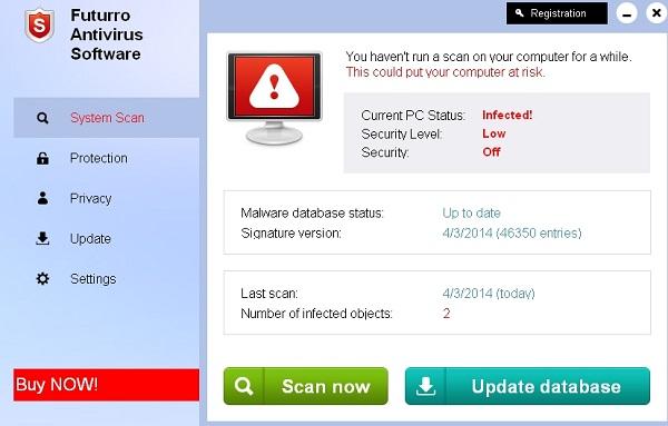 Futurro Antivirus Software