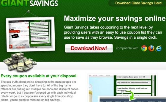 Giant Savings ads