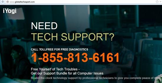 Globaltechexpert.com pop-up