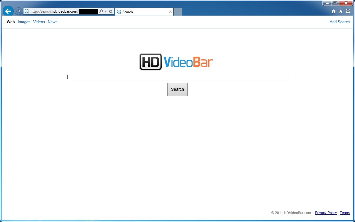 search.hdvideobar.com removal guidelines