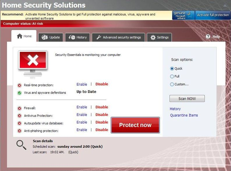 Home Security Solutions virus