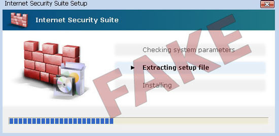 Internet Security Suite Installation Process