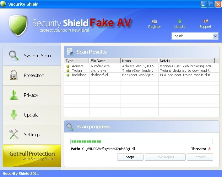 Security Shield virus