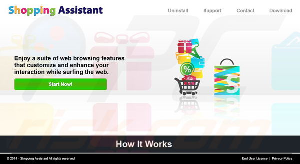 Shopping Assistant adware