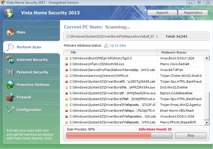 Vista Home Security 2013