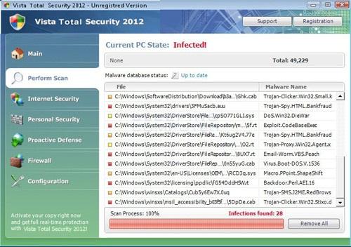 Vista Total Security 2012