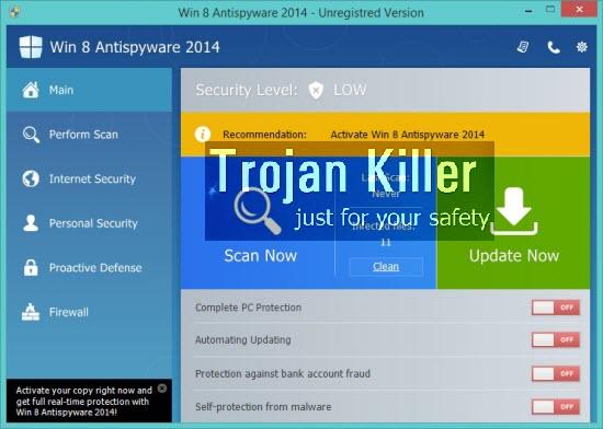 Win 8 Antispyware 2014