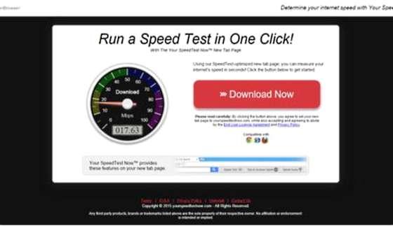 Your SpeedTest Now
