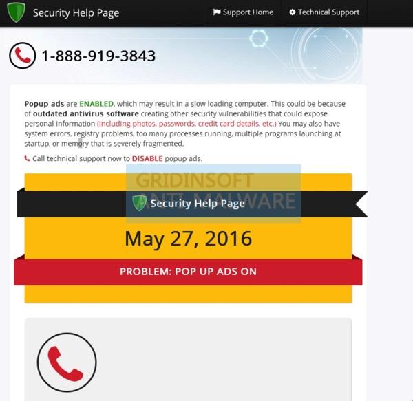 1-888-919-3843 scam