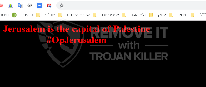 OpJerusalem (.jCry) chrome extension