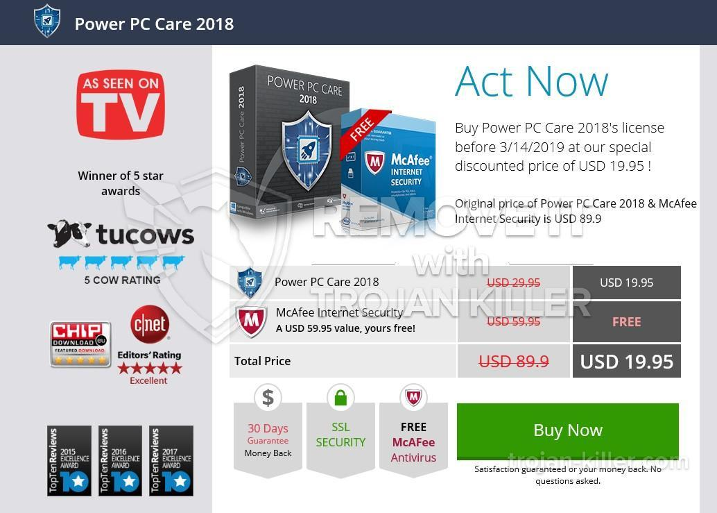 What is Power PC Care 2018?