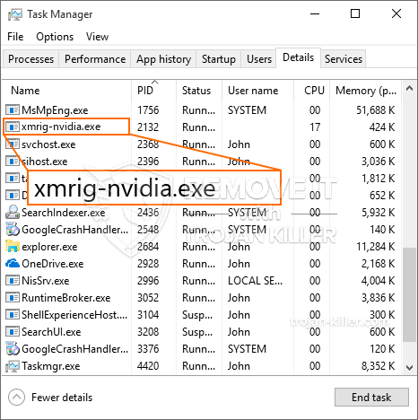 What is Xmrig-nvidia.exe?