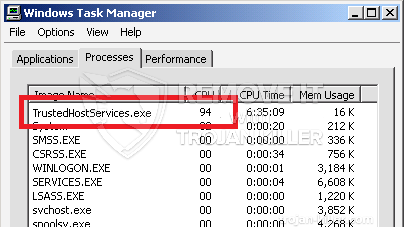 remove TrustedHostServices.exe virus