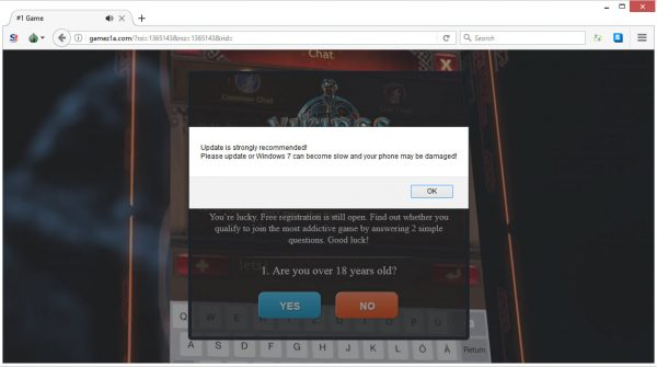 onclickrev annoying redirects