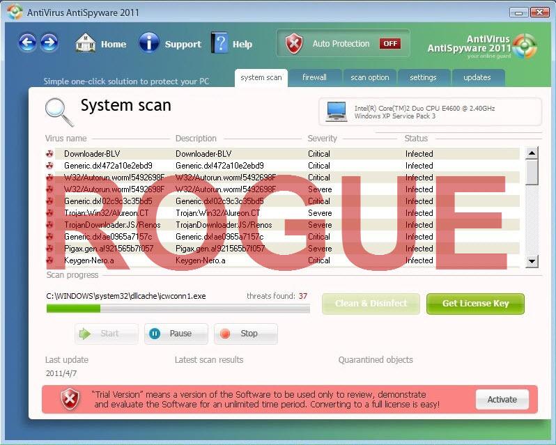 Antivirus Antispyware 2011