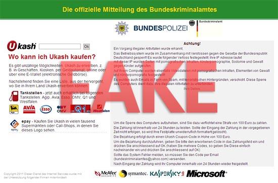 Bundespolizei ransomware