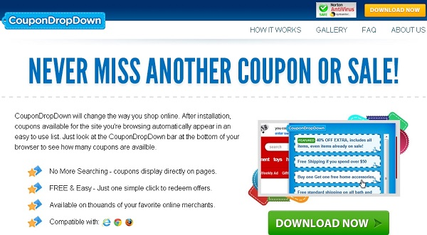 CouponDropDown ads