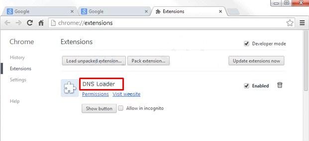 DNS Loader