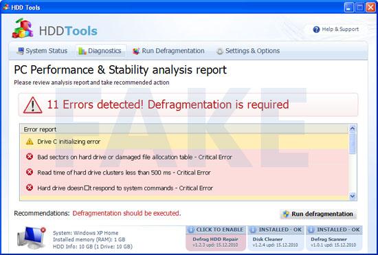 Disk Repair malware
