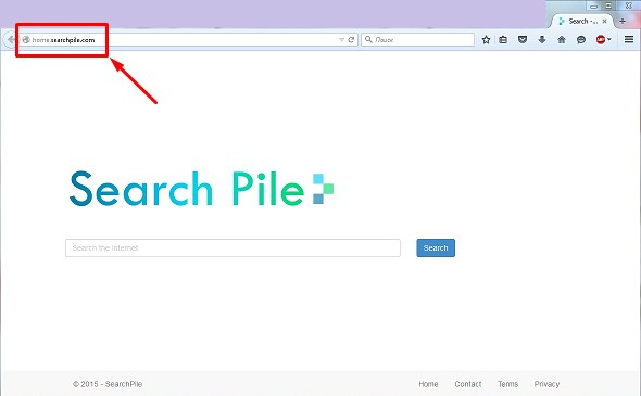 home.searchpile.com hijacker