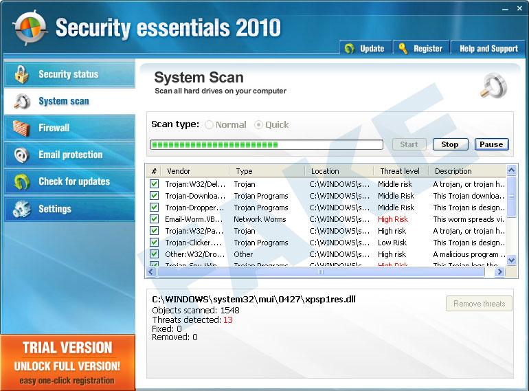 Security essentials 2010 (SE2010)