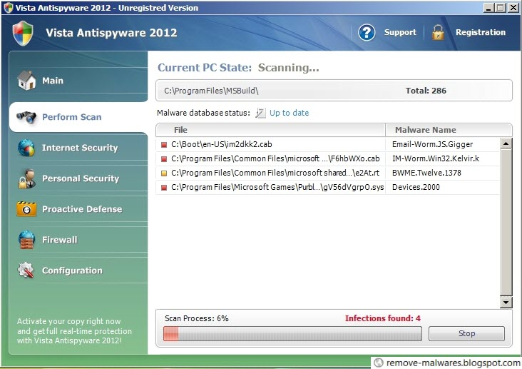 Vista Antispyware 2012