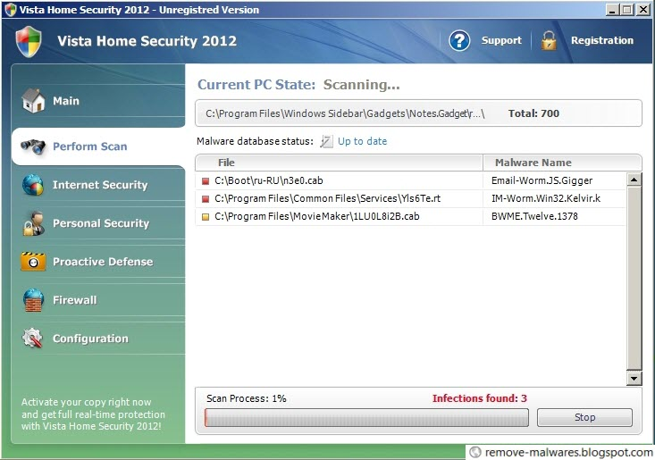 Vista Home Security 2012