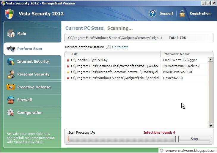 Vista Security 2012