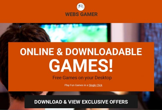 Webs Gamer Ads