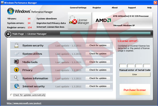 Windows Perfomance Manager