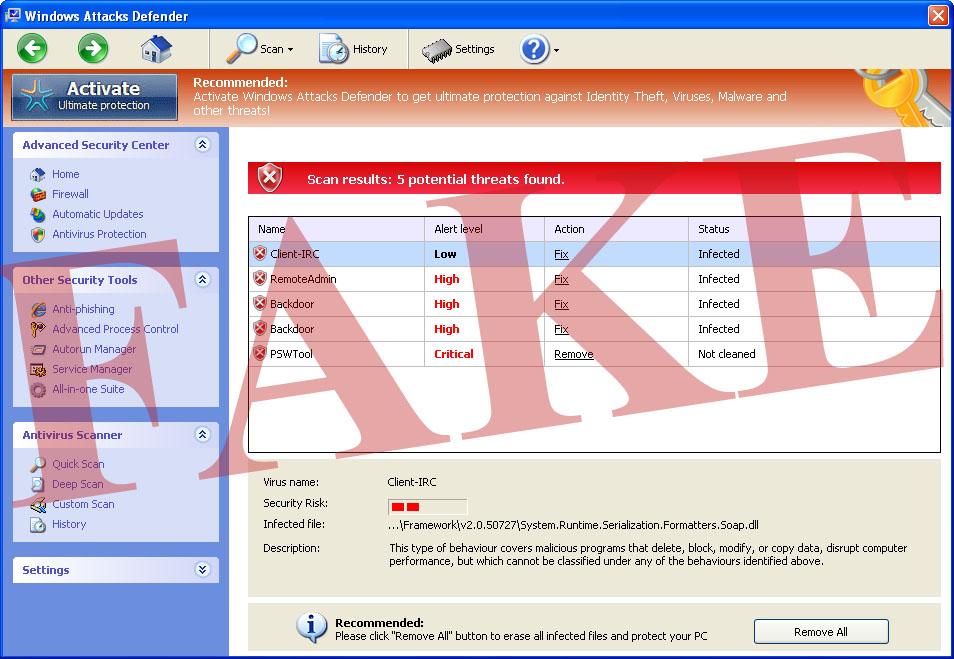 Windows Attacks Defender