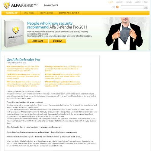 Alfa Defender Pro virus