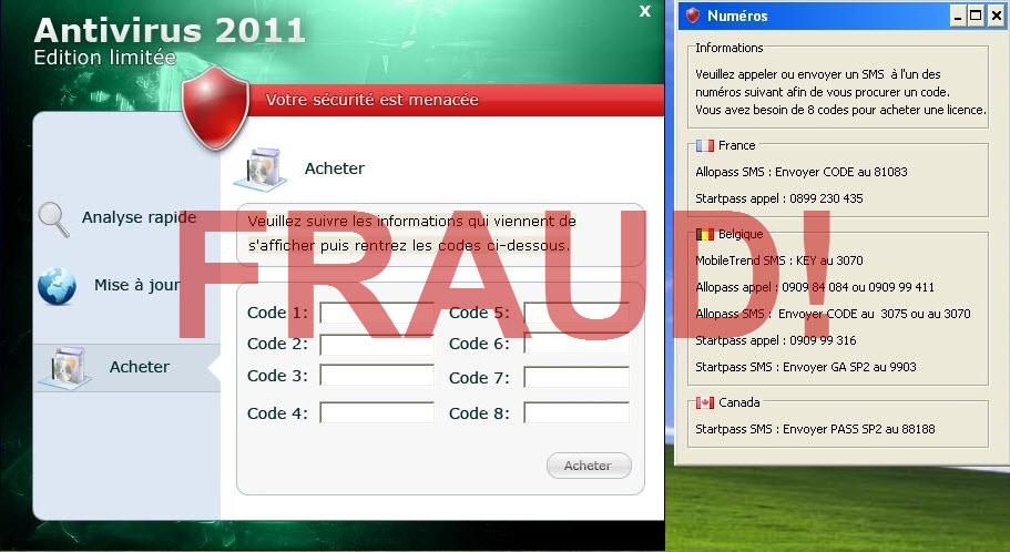 Fraud SMS Offer